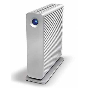 LaCie D2 Quadra USB 3.0 (LAC301549EK) 3TB External Hard Drive - Silver