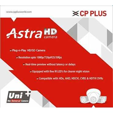 CP PLUS CP-GTC-T13L2C Astra HD IR Bullet Camera - Black