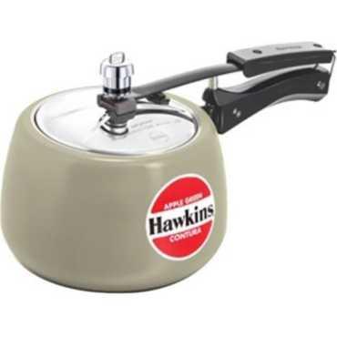 Hawkins Ceramic Coated Contura Aluminium 5 L Pressure Cooker (Inner Lid)