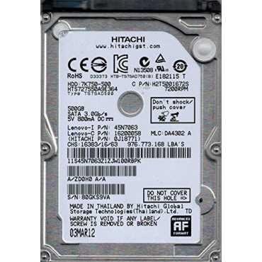 Hitachi HTS727550A9E364 500GB SATA 3 5 Hard Drive