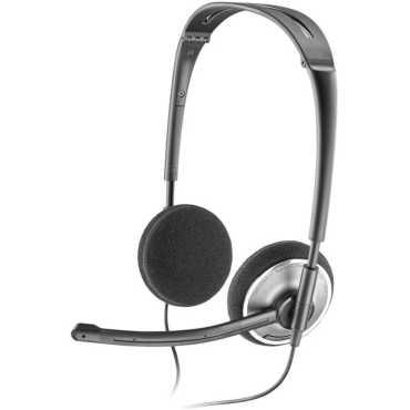Plantronics Audio 478 Headset - Black,chrome