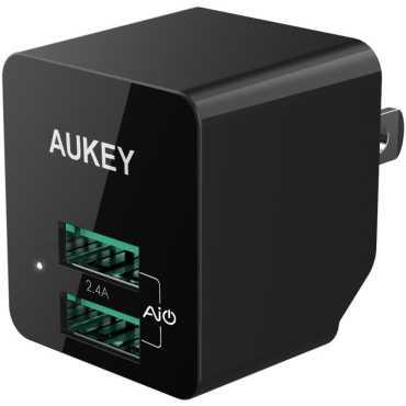 Aukey PA-U32 12W 2 4A Travel USB Wall Charger