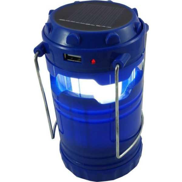 Skyline SL-09 Solar LED Emergency Light - Blue