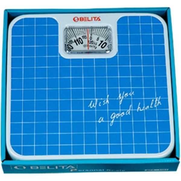 Belita BPS-1101 Analog Weighing Scale - Blue