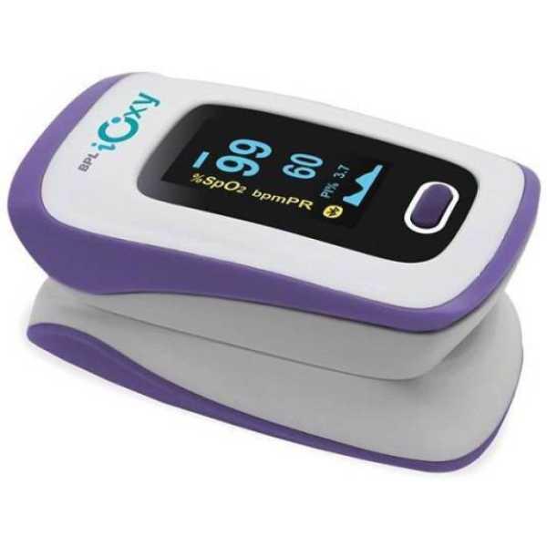BPL Ioxy Pulse Oximeter - White
