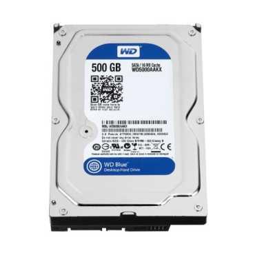 WD Caviar Blue (WD5000AAKX) 500GB Desktop Internal Hard Disk - Blue