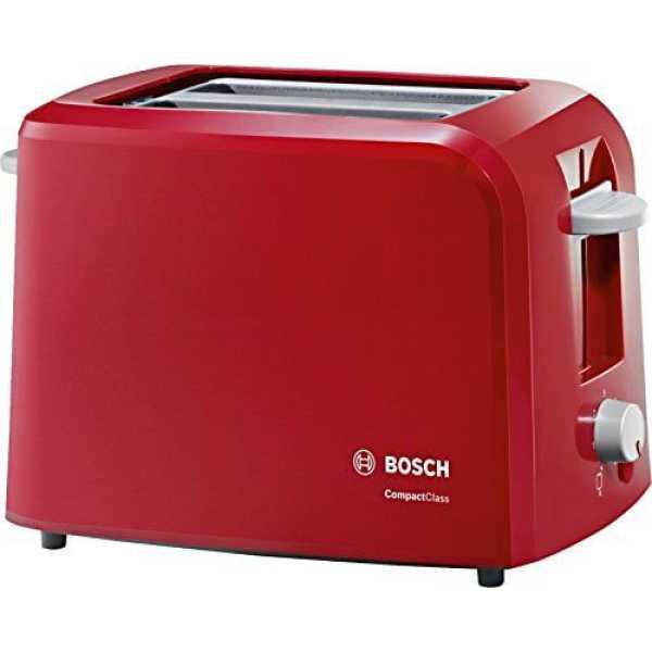 Bosch Compact Class TAT3A014 2-Slice Pop Up Toaster