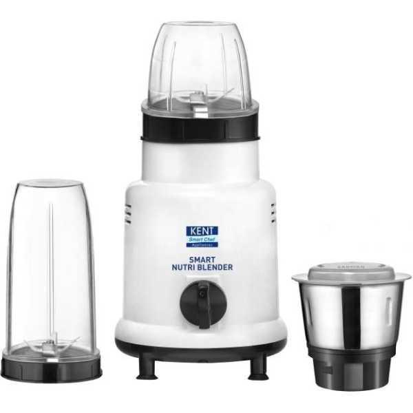 Kent 16067 Smart Nutri Blender 450W Juicer Mixer Grinder (3 Jars)