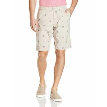US Polo Association Men s Cotton Shorts 8907378966124_USST6202_32_Grey
