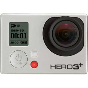 GoPro Hero3 plus Sports & Action Camera - Silver | White