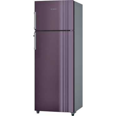 Bosch VitaFresh KDN30VR30I 3S 288 Litres Double Door Refrigerator - Purple | Silver