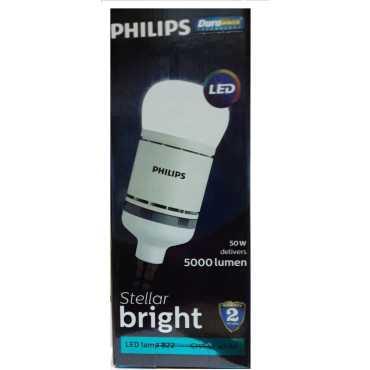 Philips Steller Bright 50W B22 Standard LED Bulb (White) - White