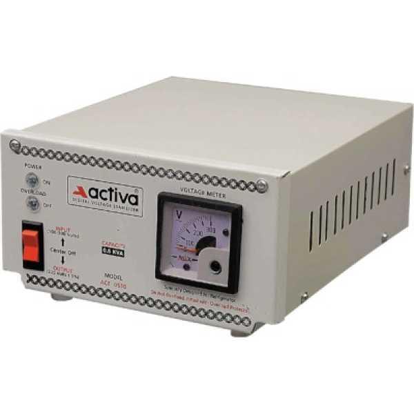 Activa 0.5KVA/100-300V Refrigerator Voltage Stabilizer