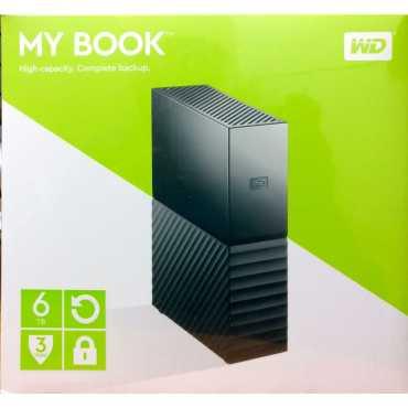 WD My Book (WDBBGB0060HBK) 6TB External Hard Drive