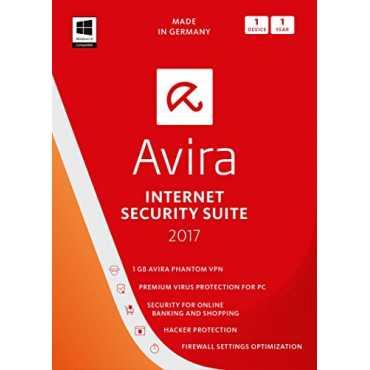 Avira Internet Security Suite 2017 1 PC 1 Year Antivirus