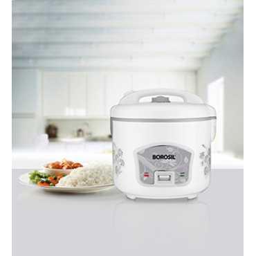 Borosil Pronto Deluxe BRC28MPB23 2.8Ltr Electric Cooker - White