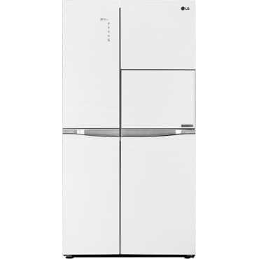 LG GC-C247UGUV 675L Side-By-Side Refrigerator (Aria White) - White