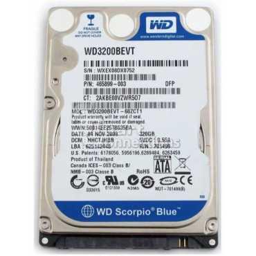 WD SATA 2 5 Inch WD3200BEVT 320GB Laptop Internal Hard Disk Drive