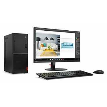 Lenovo V520 Slim Tower(10NNA01SHF) (Intel i3 7Th Gen,4GB,1TB,Win 10) Desktop (With Monitor)