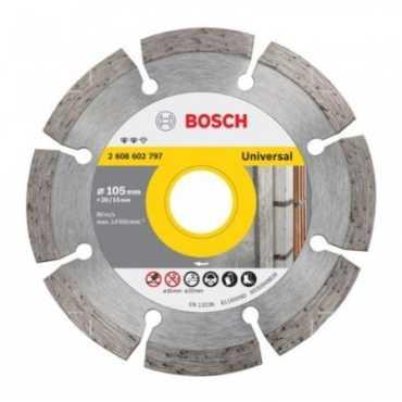 Bosch 2 608 602 797 Diamond Cutting Disc Set (10 Pc) - Silver
