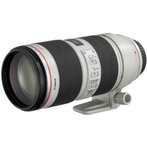 Canon EF 70-200mm f/2.8L IS II USM Lens - White