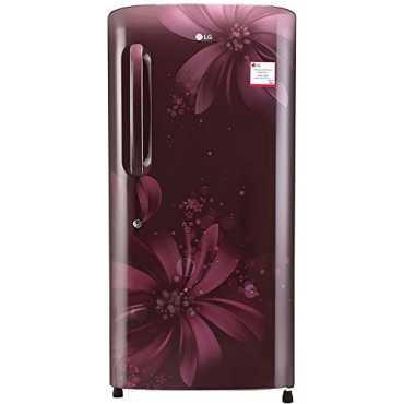 LG GL-B221APAW/AHAW/ASAW 215L 3S Single-door Refrigerator (Aster) - Purple