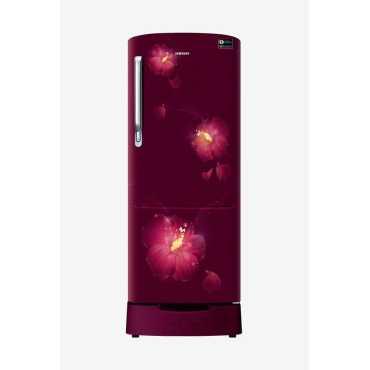 Samsung RR22M285ZR3 NL 212 L 3 Star Inverter Direct Cool Single Door Refrigerator Rose Mallow