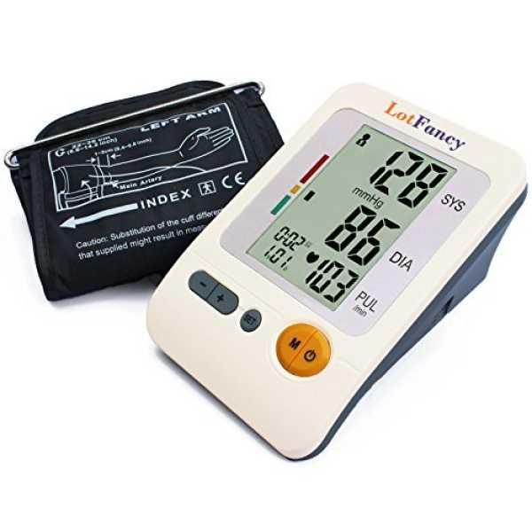 LotFancy BP-103H Upper Arm Blood Pressure Monitor