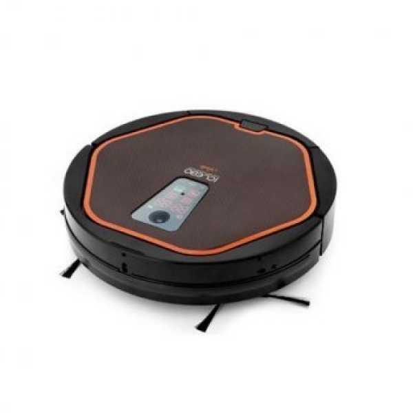 iClebo Arte YCR-M05-10  Robot Vacuum Cleaner - Orange   Black