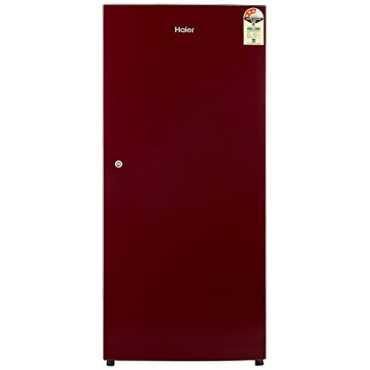 Haier HRD-1953SR 195 L 3 Star Direct Cool Single Door Refrigerator - Red