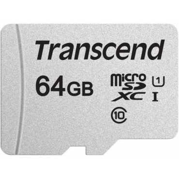 Transcend 300S 64GB MicroSDHC Class 10 (95MB/s) Memory Card
