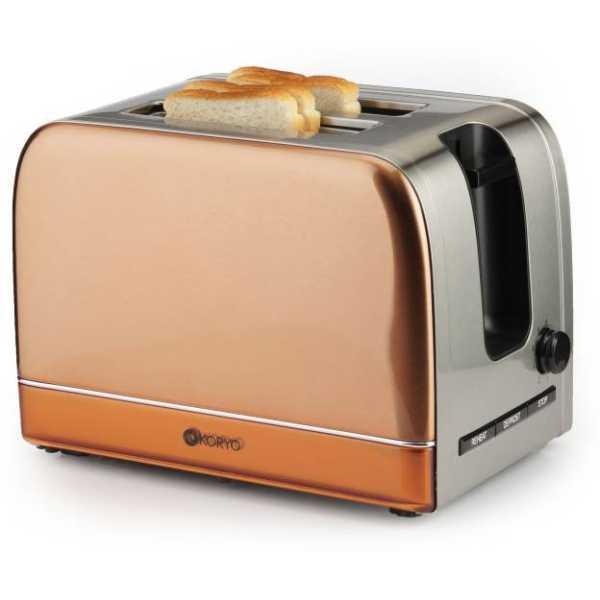 Koryo KPT2107CSS 730 W Pop Up Toaster