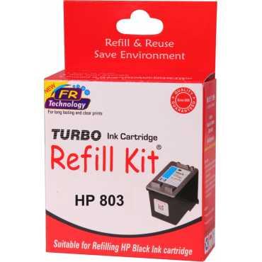 Turbo 803 Black Ink Cartridge - Black
