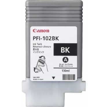 Canon PFI-102BK Black Ink