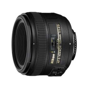 Nikon AF-S NIKKOR 50mm F/1.4G Lens - Black