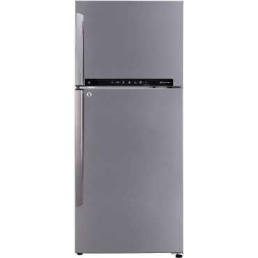 LG GL-T432FPZU 437 L 3 Star Inverter Frost Free Double Door Refrigerator - Steel