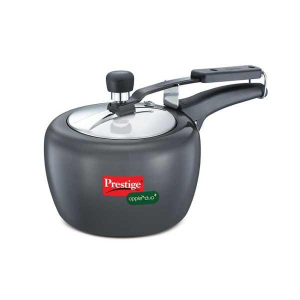 Prestige Apple Duo Plus Alumiinium 3 L Pressure Cooker (Inner Lid)