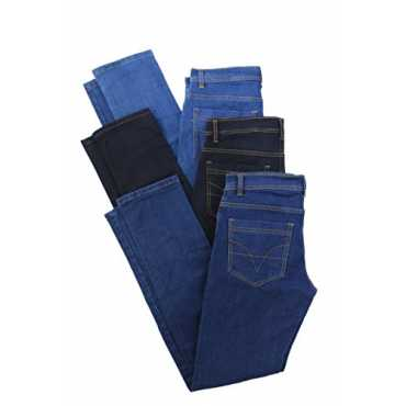 Trendy Trotters Men's Denim Jeans (Ttjcv-Multi-32_Multi-Coloured_32)