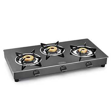 Padmini Shine CS-3GT Auto Ignition Gas Cooktop (3 Burners)