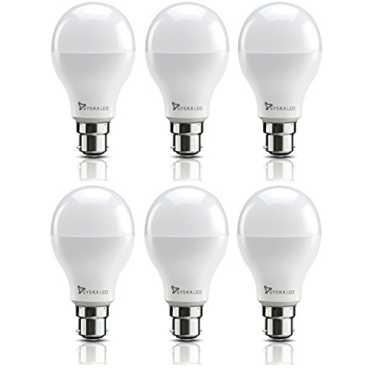 Syska 6W B22 LED Bulb Pack of 6 Cool Day Light