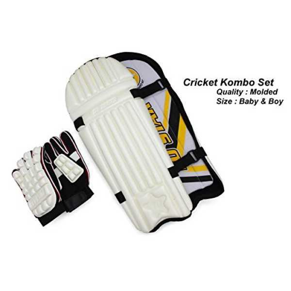 Tenstar Practice Cricket Set (Youth) - White