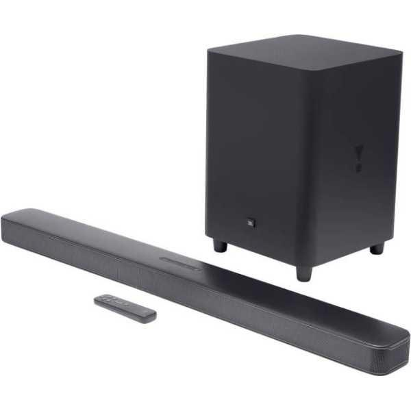 JBL BAR51IMBLKIN 5.1 Surround 550W Bluetooth Soundbar