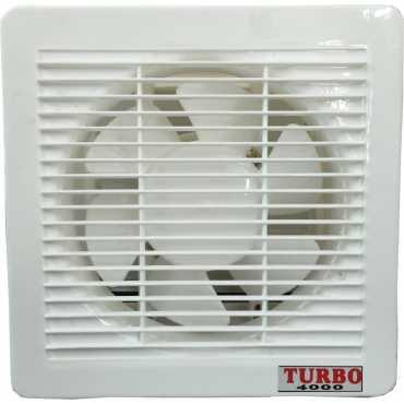 Turbo 4000  Ventilation 6 Blade Exhaust Fan (8 inch) - White