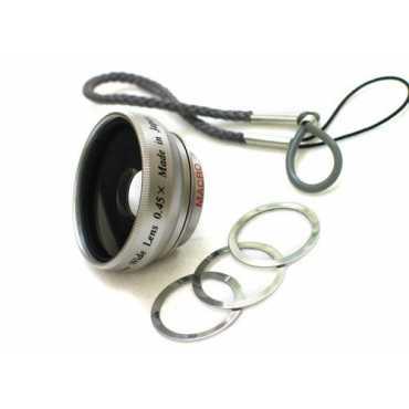 Rokinon 0.45x Wide Angle Lens (For Flip Camera) - Silver
