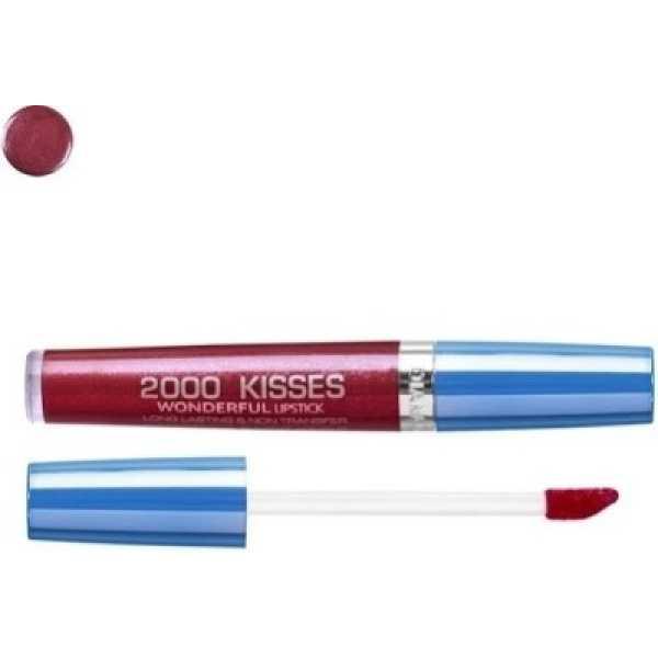 Diana of London 2000 Kisses Wonderful Lipstick (3-Senset Red) - Red