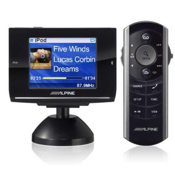 Alpine EX-10 Advanced iPod Controller with Bluetooth