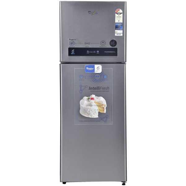 Whirlpool PRO 355 ELT 3S 340 Litres Double Door Refrigerator