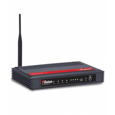 iball Baton WRA150N 150Mbps ADSL Wireless Router - Black