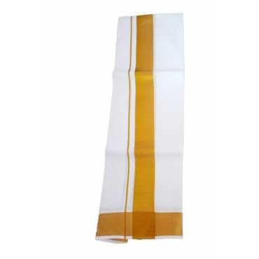 Gugaliya Solid White Lungi
