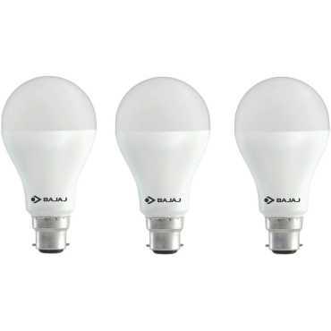Bajaj 12 W LED CDL B22 HPF Bulb White (pack of 3) - White